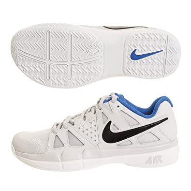 NIKE Men's Air Vapor Advantage Tennis Shoes (8 D US, Vast Grey/Black