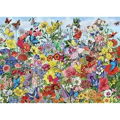 Cobblehill 80032 1000 Pc Butterfly Garden Puzzle Vari