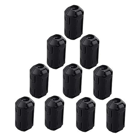20/St/ück Wechselrahmen Ferrit Ring Core Schwarz RFI EMI Rauschunterdr/ücker Kabel-Clip f/ür 5/mm//7/mm//9/mm//13/mm Durchmesser Kabel