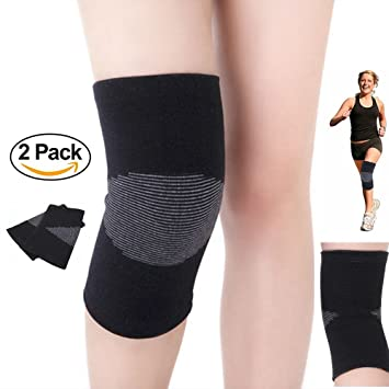 20d93fc0a6c Knee Compression Sleeve Support - Knee Support Brace - Compression Recovery Knee  Sleeves for Joint Pain