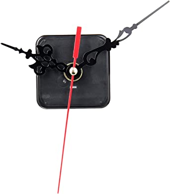 White Spindle Hands Quartz Clock Movement Mechanism DIY Repair Tool Craft Rh
