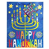 Jillson Roberts 6-Count Hanukkah Gift Bags Available in 5 Designs, Small Joy of Lights