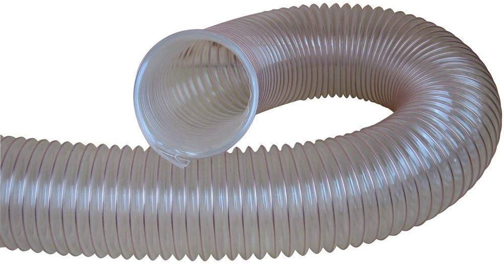 prix par m/ètre Charnwood 50FLEX 50mm Diam/ètre Transparent Tuyau Flexible