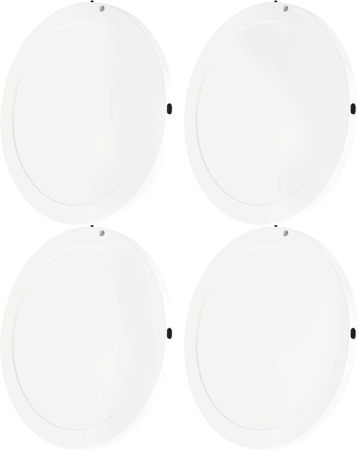"Sunco Lighting 4 Pack LED Ceiling Light 9"", Motion Sensor, 17W, 5000K Daylight, 1300 LM, Flush Mount Fixture, Ideal for Pantries, Closets, Hallways, Stairs, Laundry Rooms - UL, Energy Star"