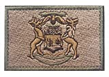 us army sewing kit - Michigan State Flag Tactical US Army USA Military Morale Patch (HK) (color3)