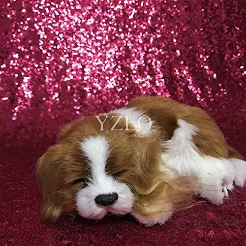 Fushia YZEO Sparkly Royal bluee Photography Sequin Backdrops,4ftx20ft