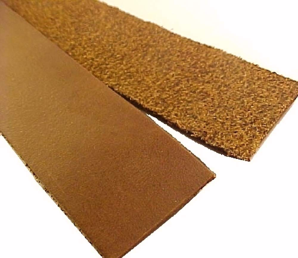1'' x 84'' Brown Oil Tanned Leather Strip 5-6oz LeatherRush by Leather Rush (Image #2)