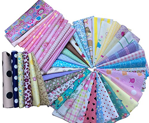 Quilt Kit Pattern Fabric Button - 7