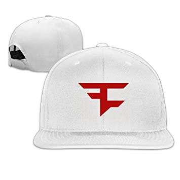 Hittings Baseball Snapback Faze Clan Logo New Era Hat White  Amazon.co.uk   Sports   Outdoors bac8fe9fdfc