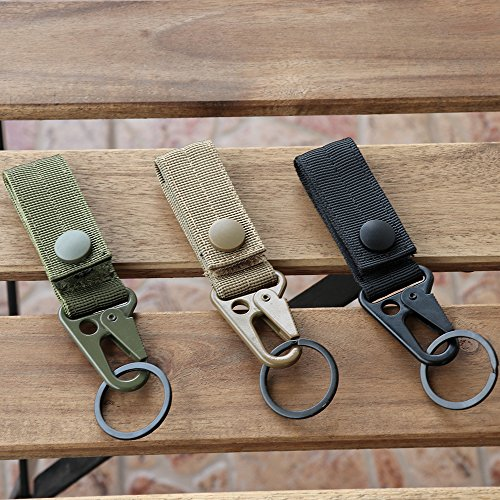 XTACER Tactical Molle Key Ring Gear Key Keeper Keychain