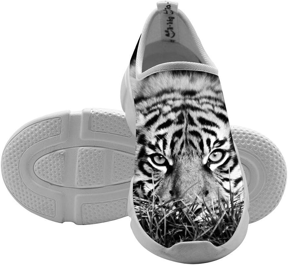 QsvMo Tigris Girl Shallow Leisure Shoes Unique Sneaker