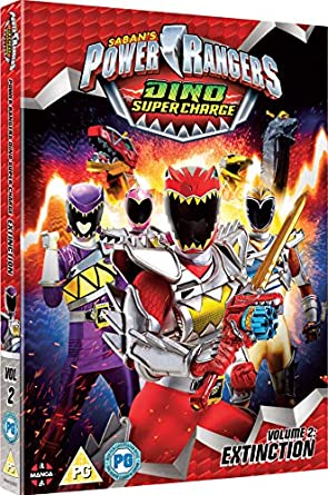 Image result for Power Rangers Dino Super Charge Extinction Volume 2