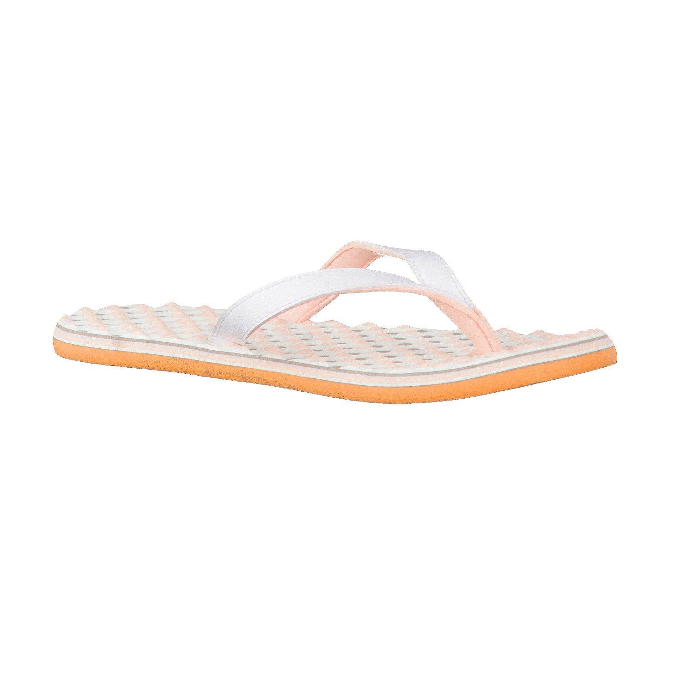 adidas Damen Zehentrenner eezay dots W ftwr white/haze coral s17/ice purple f16 42 tWVYsNHcW