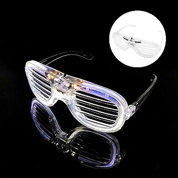 Amazon.com: Peedeu - Gafas de sol LED con 3 pilas ...
