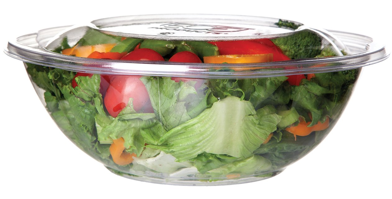 Eco-Products, Inc EP-SBS64 Compostable Salad Bowl, Includes Lid, 64oz. (Pack of 150)