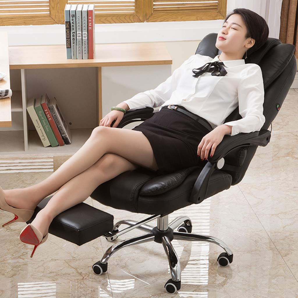 WONdere High-End Computer Chair Office Chair Reclining Home Massage Chair Lift Massage Chair Desk seat (D) by WONdere (Image #5)
