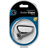 G7th Newport Capo (12 String Silver with Compensated String Pad)