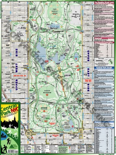Amazon.com : Green Trails Maps Central Park, NYC : Outdoor ... on