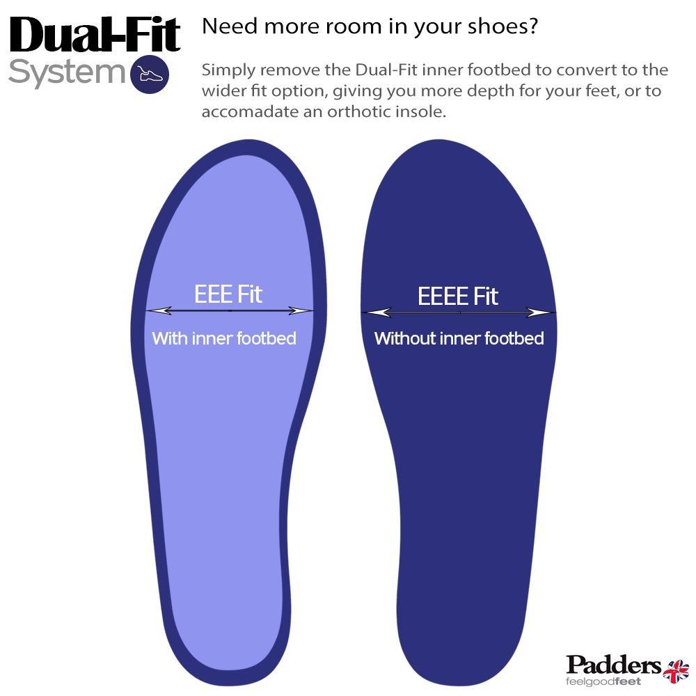 7fc22401dfaa Padders Plus Women s Leather Shoe  Refresh 2