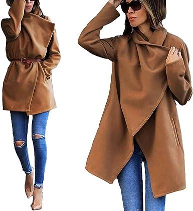 Coloré(TM Manteau Femme Long Hiver Chaud Vintage Chic Parka