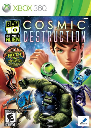 Ben 10: Ultimate Alien - Cosmic Destruction by D3 Publisher