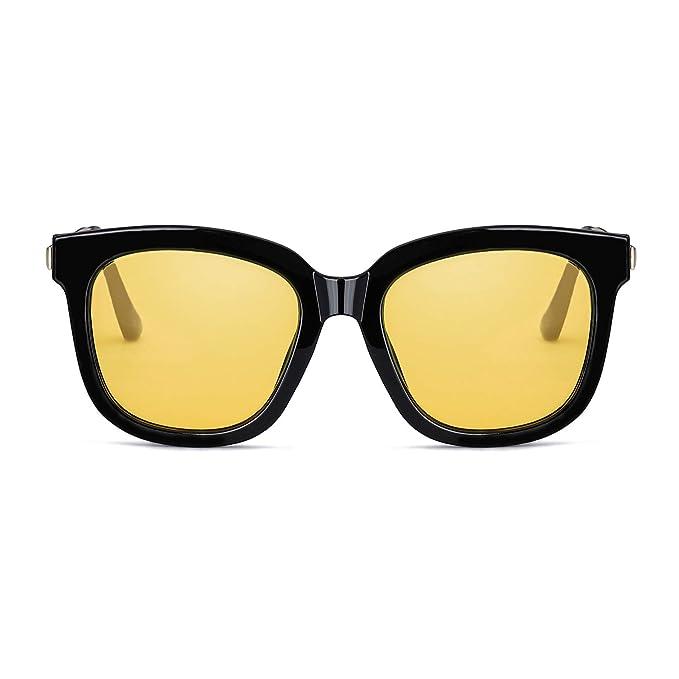 SIPHEW Gafas de Sol Polarizadas de la Visión Nocturna para los Conductores Antideslumbrante de Conducción de los Vidrios Noche: Amazon.es: Ropa y accesorios