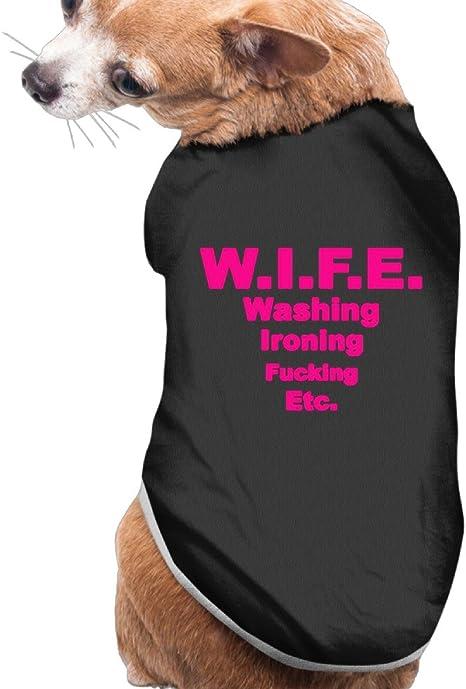 Amazon.com : Dog Clothes Wife Washing Ironing Fucking-etc