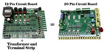 ramset 12 pin ramset 20 pin circuit board upgrade for old ramset rh amazon com