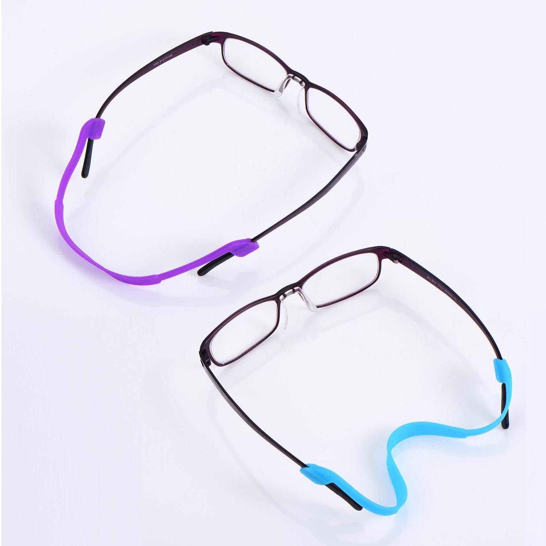 10 Piezas Correa de Gafas de Silicona Cordones de Gafas Retenedor de Gafas de Sol Cuerda de Gafas Antideslizante para los Niños, 10 Colores: Amazon.es: Ropa ...