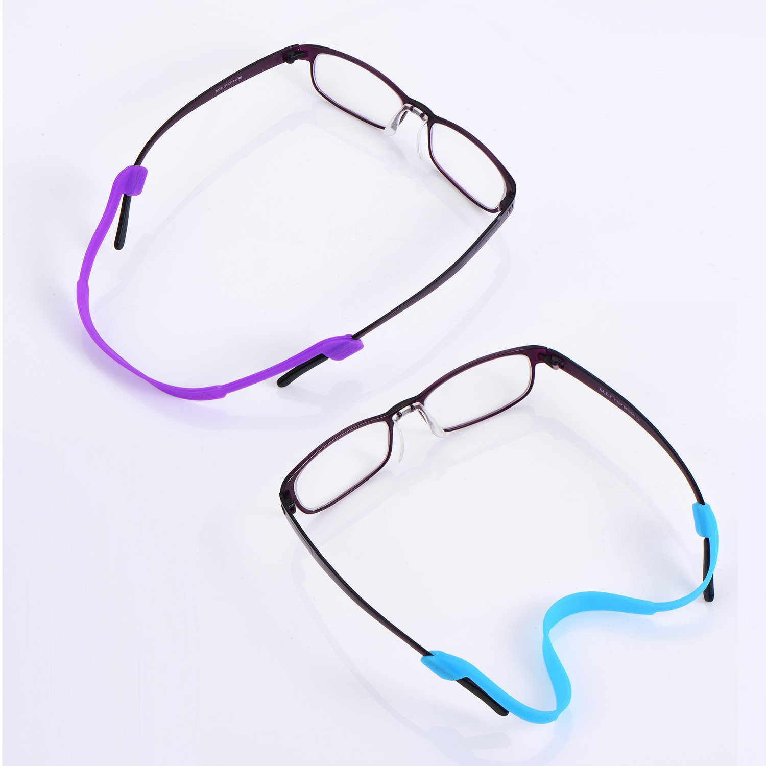 4d797403553 eBoot 10 Pieces Silicone Eyeglass Strap Eyewear Retainers Sports Anti-slip  Elastic Glasses Sunglass Cord Holder for Kids