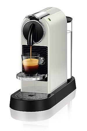 Nespresso DeLonghi Citiz EN167.W - Cafetera monodosis de cápsulas Nespresso, compacta