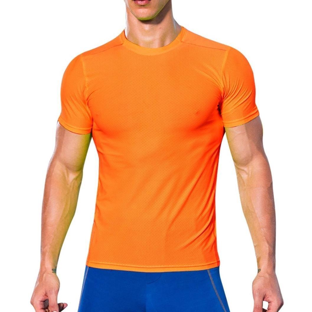 Resplend Hombre Entrenamiento Leggings Fitness Sports Running Yoga Athletic Shirt Top Blouse