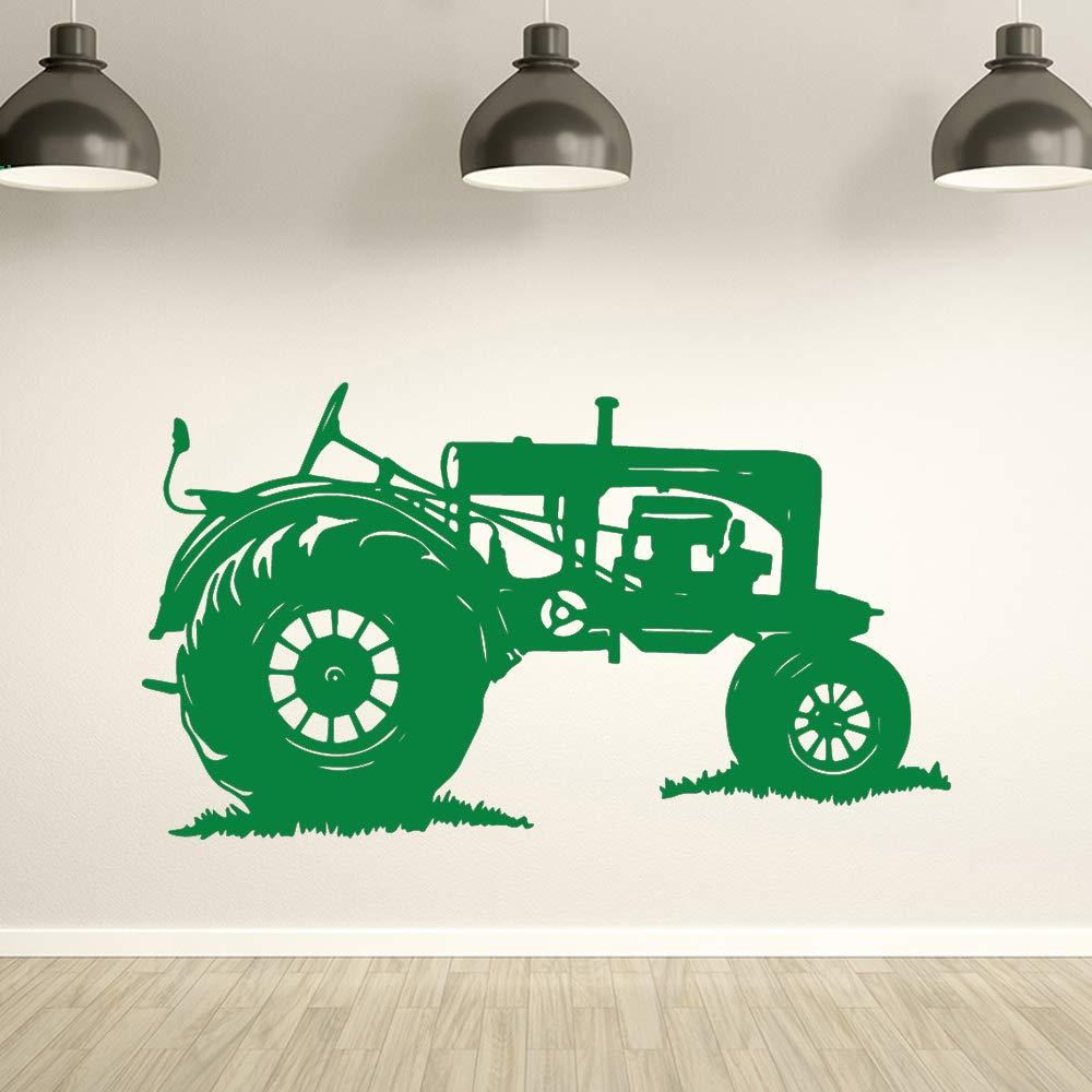 Tractor clásico Adhesivos de pared Decoración para el hogar ...