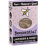 Beessential All Natural Honey & Lavender Small Batch Bar Soap- Great for Men, Women, and Children – Paraben Free - Made in USA – 5 Oz.