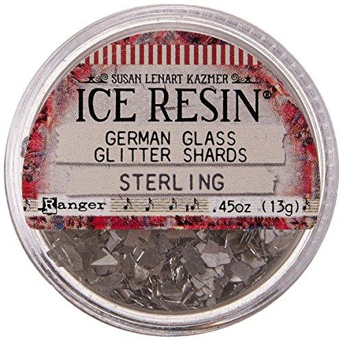 ICE Resin Glass Glitter Shards, (German Glitter)