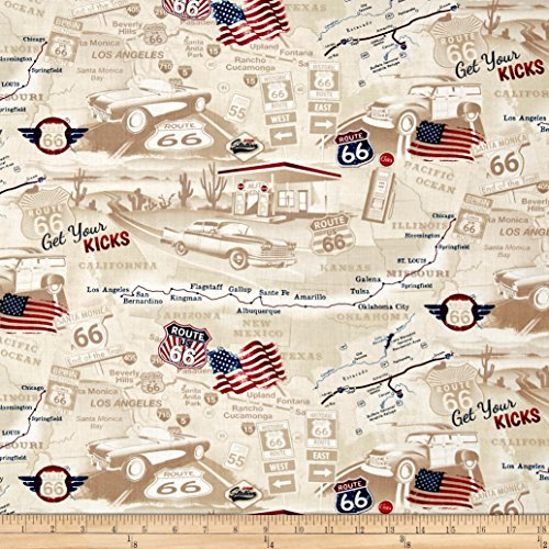 Route 66 Fabric - 4