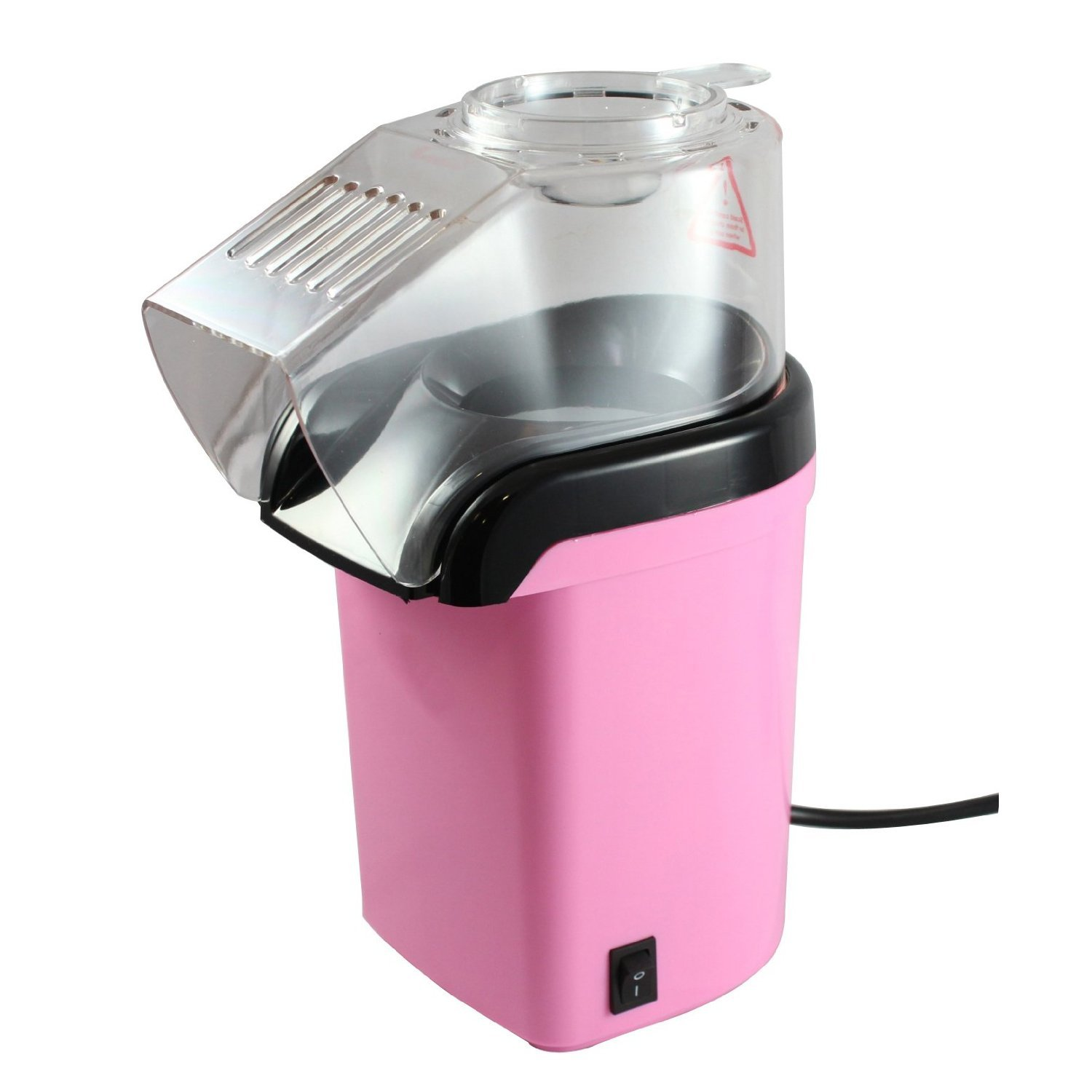 Pink Small Kitchen Appliances Fine Elements Popcorn Maker Pink Amazoncouk Kitchen Home