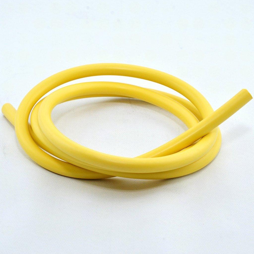 7/mm Cable de encendido Silicon Amarillo 1/Mtr
