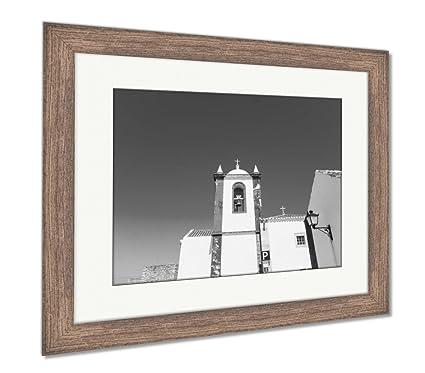 Amazon Com Ashley Framed Prints Cacela Velha Church Old