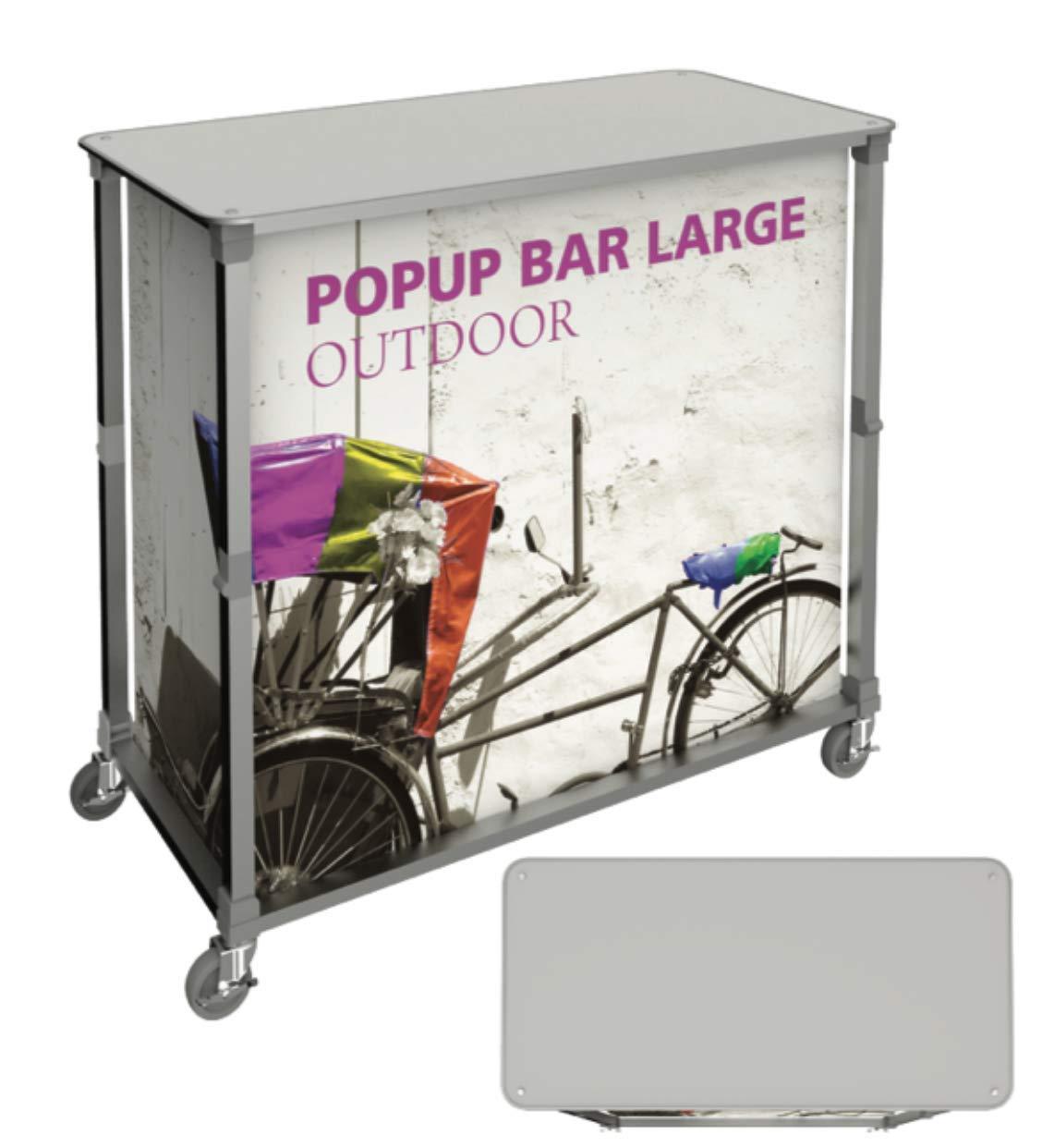 Large Portable Popup Bar