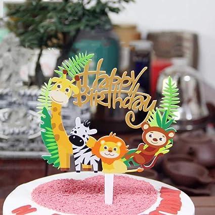 Decoración para tartas infantiles.: Amazon.com: Grocery ...