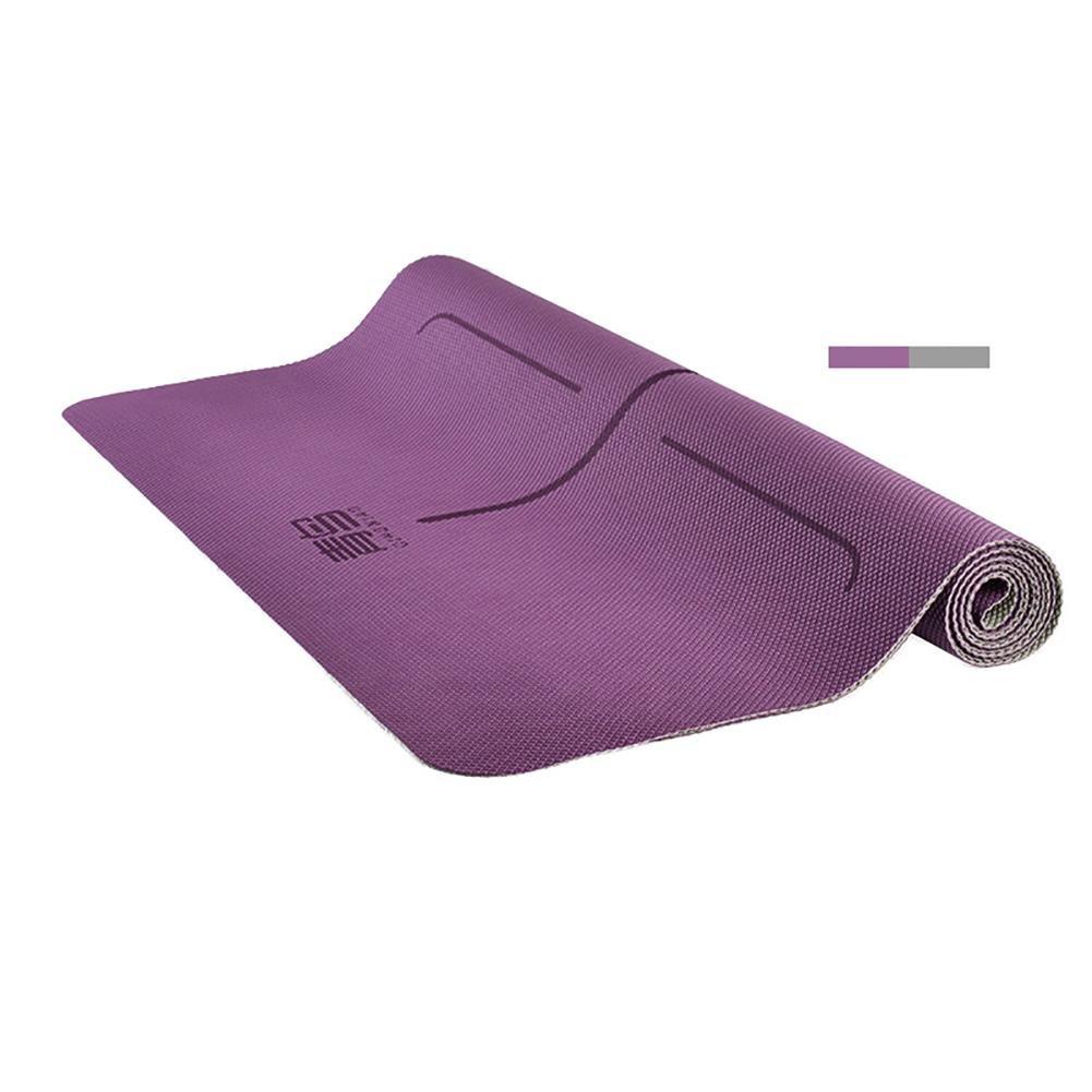Lmzyan 2mmTPE Yoga Matte 183  68CM Verlängerung Anti-Rutsch Fitness Mat Yoga Shop Handtuch
