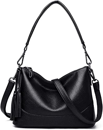 Ladies Tassel Cross Body Bag Finished With Faux Leather Designer Female Hand Bag