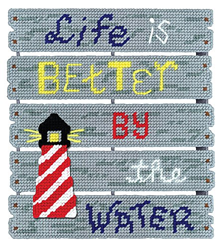Janlynn By The Water  Pallet-ables Plastic Canvas Kit