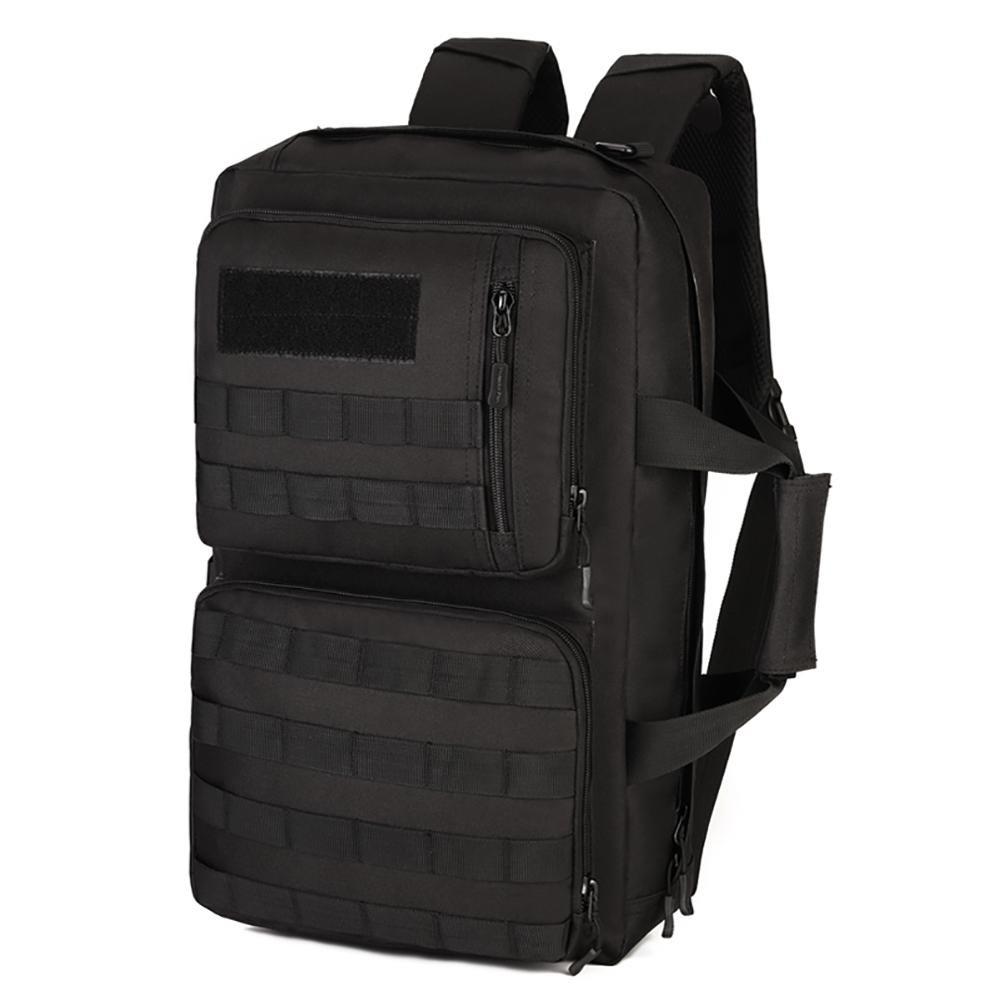35 Liter mit drei Computer-Taschen Reiseaußenschultertasche aus Nylon