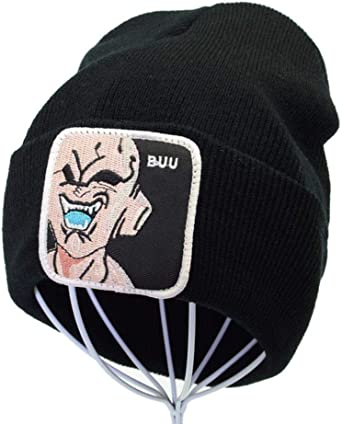 Maneray Dragon Ball Z Majin Buu Sombrero de Punto Crochet Skullies ...
