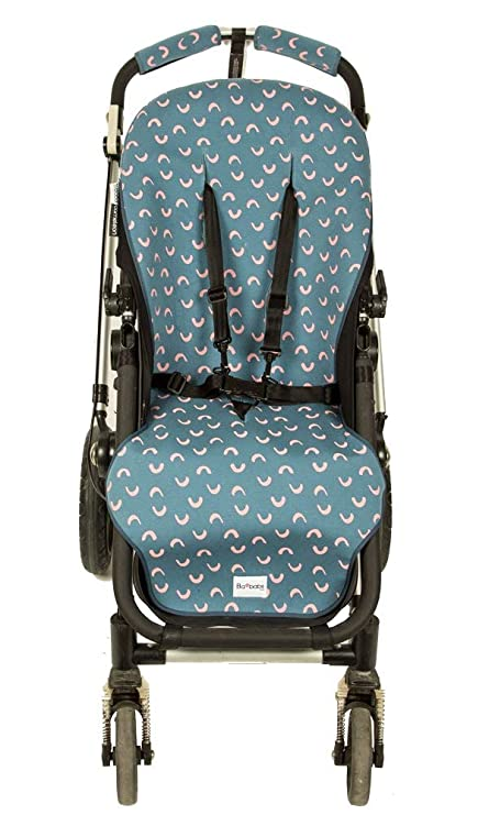 COLCHONETA PARA BUGABOO CAMALEON (BLUE & PINK WAVES): Amazon ...