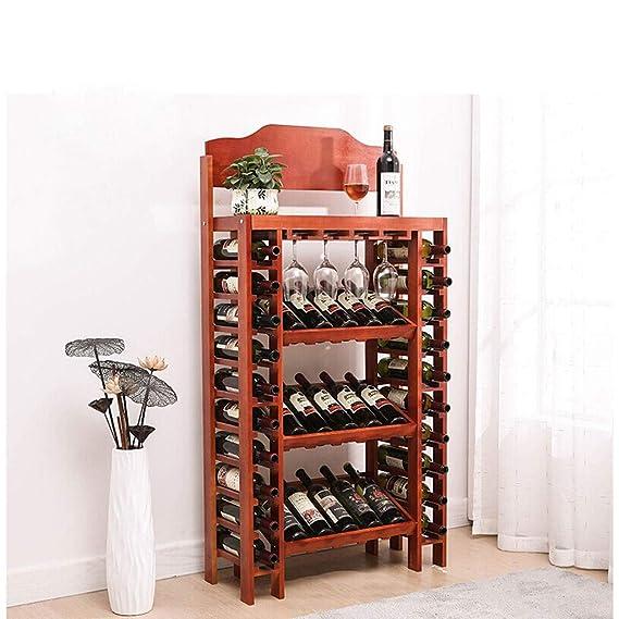 Mesa comedor cristal Decoración de estante de vino Estante de ...