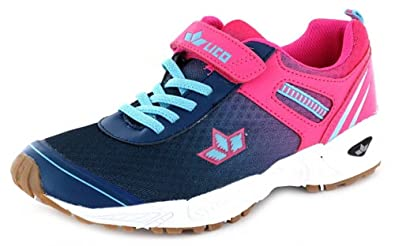 Lico Damen Mädchen Sport Schuh Modell Barney Vs Marine Pink