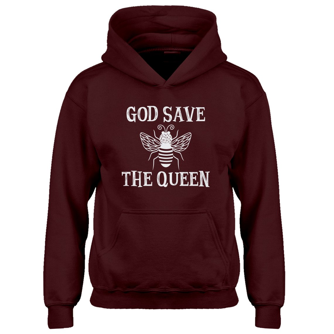 Indica Plateau Youth God Save The Queen Kids Hoodie